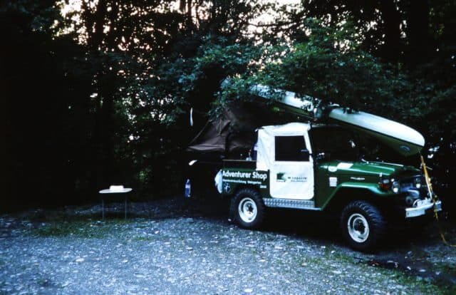 Erstes Wohnmobil mit Pickup-Dachzelt