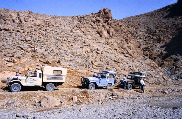 Marokko Atlas Pickup Wohnmobil Hubdach-koffer-Selbstausbau