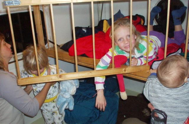 SCAM Wohnmobil Hubdachkabine Kinder