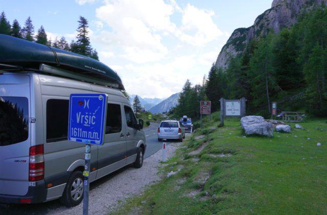 Sprinter Pass Slowenien Wohnmobil Kastenwagen-Selbstausbau