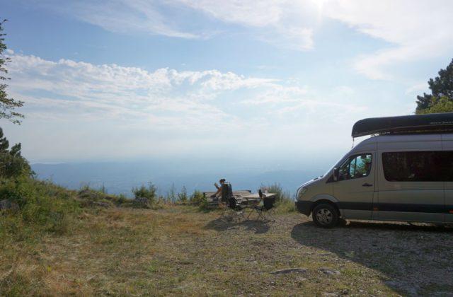 Sprinter freies Campen Wohnmobil Kastenwagen-Selbstausbau