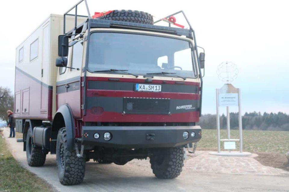 Iveco Magirus Deutz 90-16 als selbstausgebautes Wohnmobil Expeditionsmobil