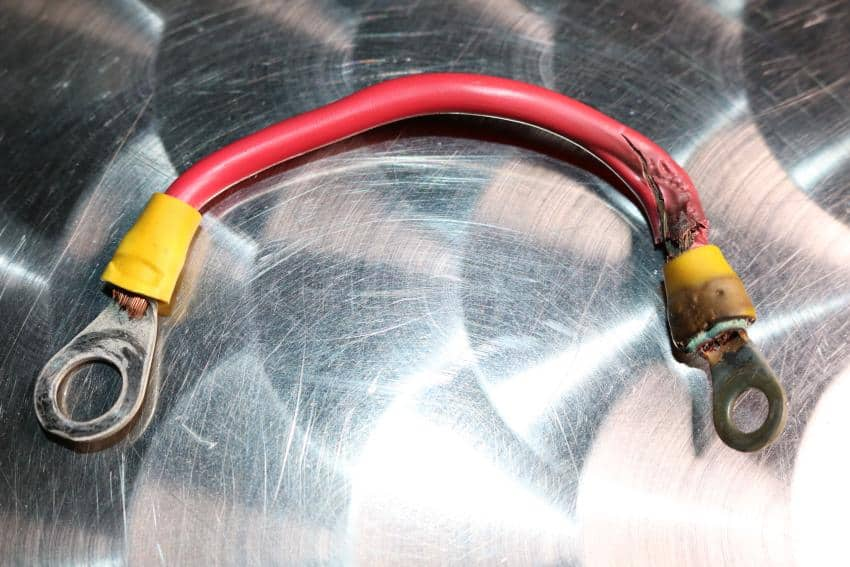 Angekokeltes Kabel