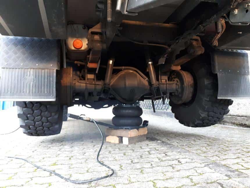 Druckluft Luftkissen Wagenheber